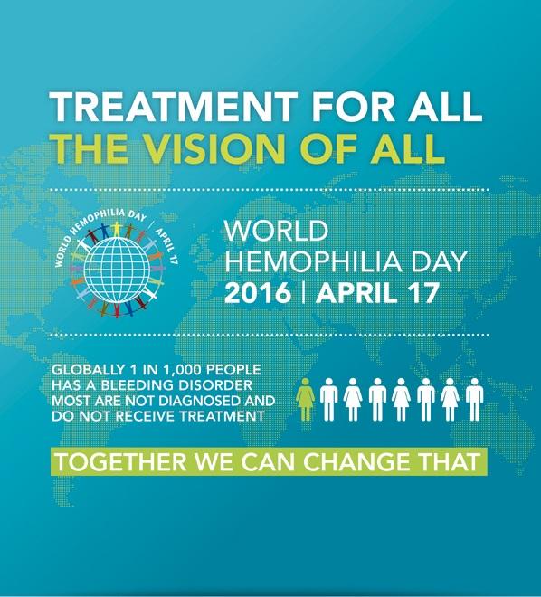 World Hemophilia Day 2016