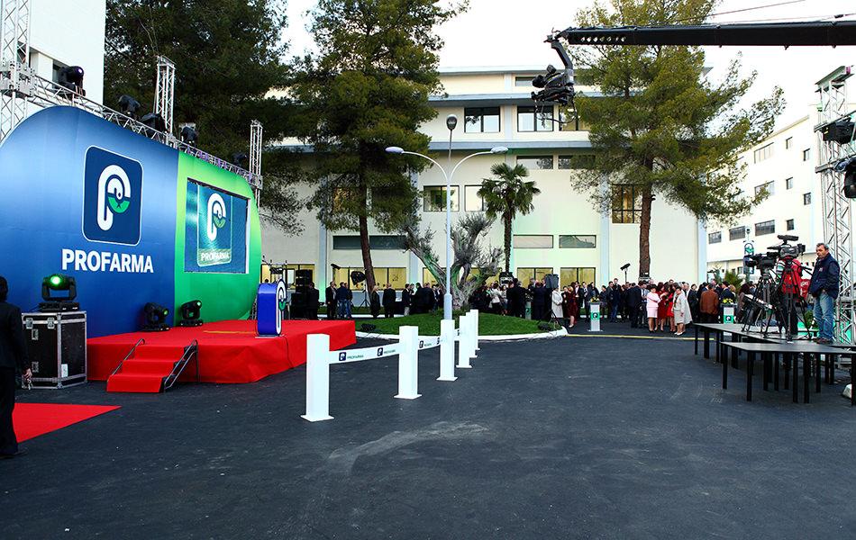 Inauguration of Profarma:: March 2011